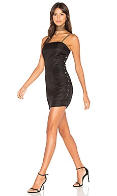 Amber Mini Dress in Black