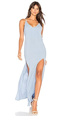 Chiara Maxi Dress in Light Blue