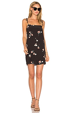 Lucia Mini Slip Dress in Navy Floral