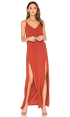 Chiara Maxi Dress in Brick