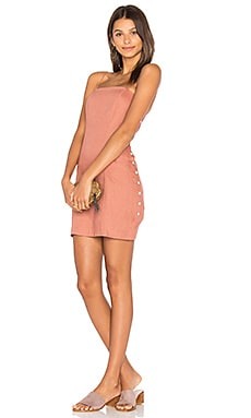 Amber Mini Dress in Terracotta