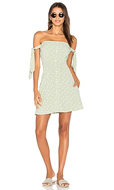 Giulia Mini Dress in Daisy Print
