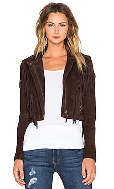 Capulet Frontier Fringe Jacket in Brown