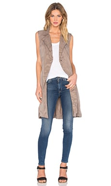 Sleeveless Trench in Ash