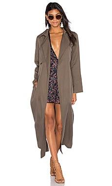 Capulet Bleeker Duster Trench in Olive