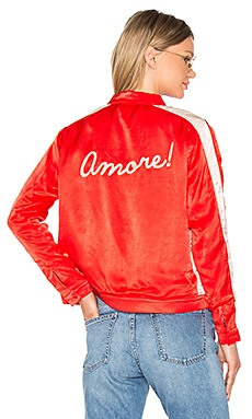 X REVOLVE Americano Souvenir Jacket in Red