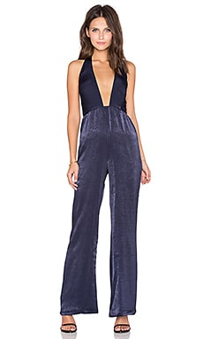 Halter Neck Jumpsuit in Navy