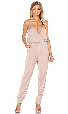 James Jumpsuit in Blush