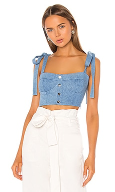 Hayley Crop Top Capulet $136