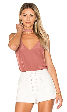 Flore Camisole with Choker en Terracotta