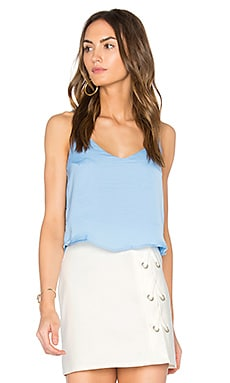 x REVOLVE V Neck Camisole in Light Blue