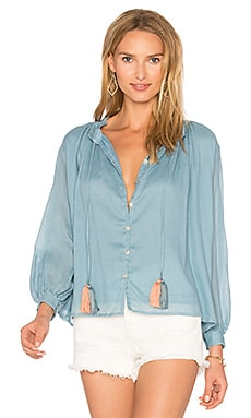 Katie Blouse in Blue