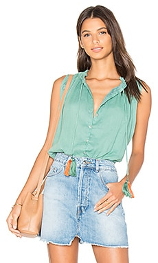 Miranda Blouse in Green