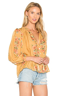 Katie Blouse en Spring Flower Gold