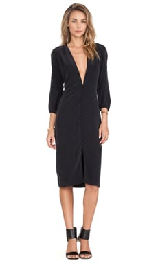 Carmella Emeline Dress in Black