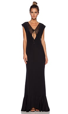 Carmella Vera Maxi Dress in Black