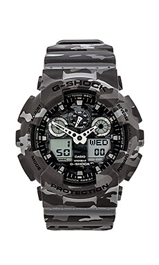 G-Shock GA-100 in Camouflage