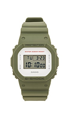 G-Shock DW-5600M Military Color Theme in Green