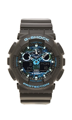 G-Shock GA-100 in Blue