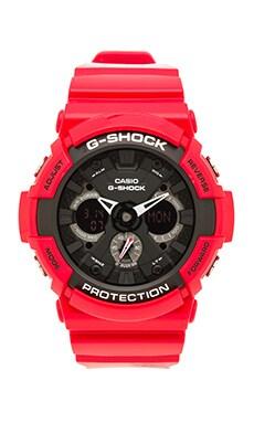 G-Shock GA-201 in Red