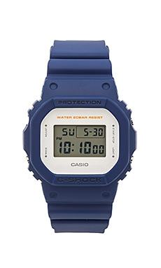G-Shock DW-5600M Military Color Theme in Blue
