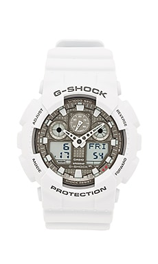 G-Shock GA-100 in Ice Grey