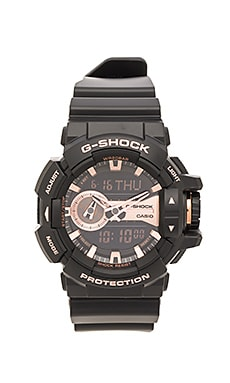 G-Shock GA-400GB Garish Series Gold in Black & Rose