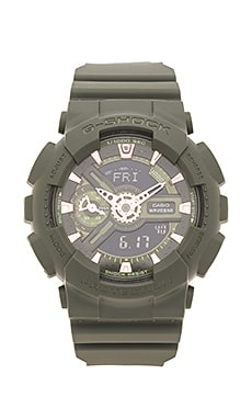 G-Shock GMAS-110CM Military Series in Green