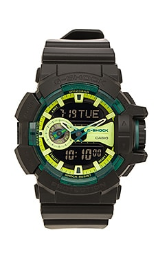 G-Shock GA-400 Sporty Illumi Series in Black