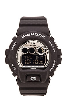 G-Shock x Supra Limited Edition GDX-6900 in Black