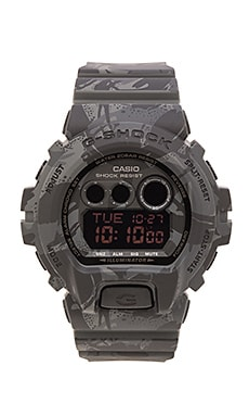 G-Shock Foundation Exclusive GDX-6900 M-Spec Camo in Black