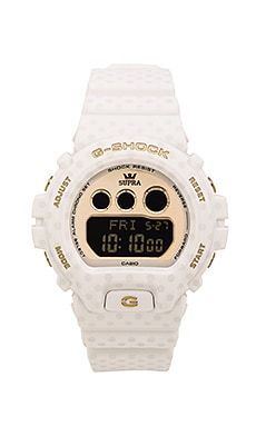 G-Shock x Supra Limited Edition GMDS-6900SP in White