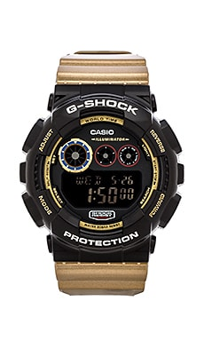 G-Shock GD-120 Crazy Color in Black