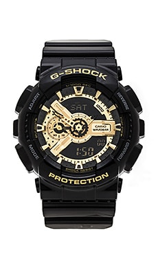 G-Shock GA-110 in Black & Gold
