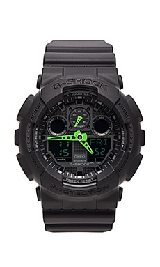 GA-100 Neon Highlights in Black/Green