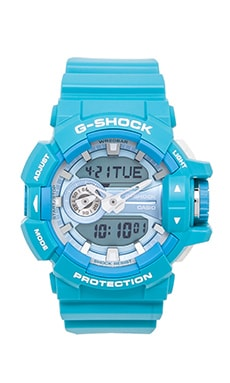 G-Shock GA-400 in Baby Blue
