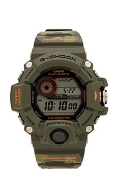 G-Shock Master of G-Manuflage in Green & Grey Camo