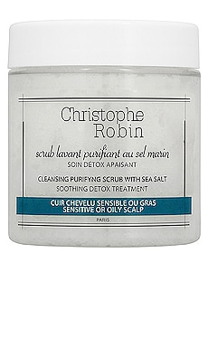 Travel Cleansing Purifying Shampoo Scrub with Sea Salt Christophe Robin $19