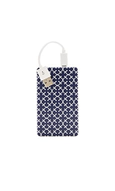 Chic Buds Brooke Slim Power Battery in Navy Clover