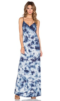 C&C California Crystal Wash Maxi Dress in Navy