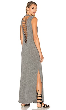 Nina Tank Dress en Gris Chiné