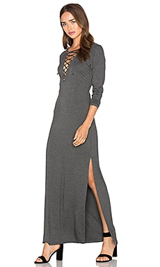 Siren Dress in Charcoal