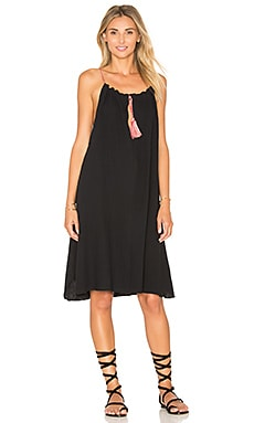 C&C California Elise Mini Dress in Black