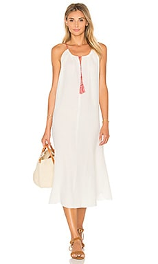 Caliope Maxi Dress in White