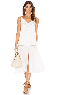 C&C California Vanessa Dress in White