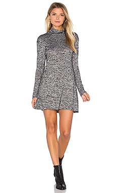 Fawn Dress in Salt & Pepper