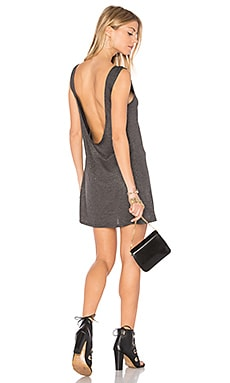Alba Dress in Heather Grey