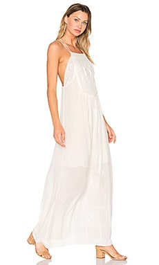 Odysseia Strappy Maxi Dress in White