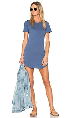 Adelise T Shirt Dress in Japanese Indigo