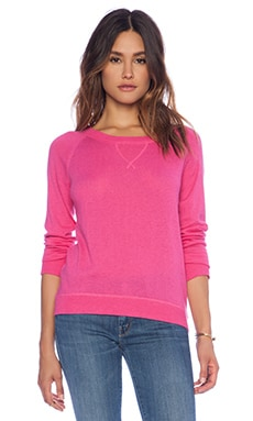 C&C California Cashmere Blend Sweater in Spanish Needle